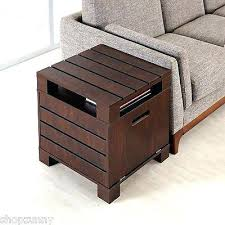 rustic contemporary furniture. Contemporary Side Tables With Storage Table End Modern Rustic Furniture
