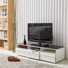 white 70 inch tv stand. Perfect White Aingoo Modern TV Stand White And Black Coffee Table Glass With 3  Drawers For On 70 Inch Tv V