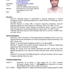 Resume In English Examples Resume Examples In English Doc Danayaus 56