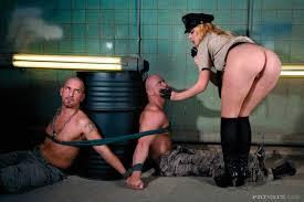 Lesbian Prison Orgy