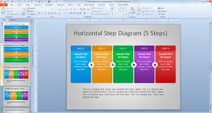 Powerpoint Chevron Template Free Steps Diagram For Powerpoint