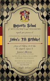 efeddfffececa amazing harry potter birthday party invitation wording