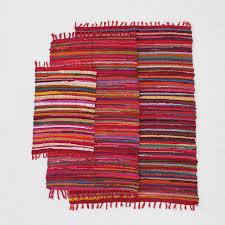 fair trade handloomed cotton rag rugs