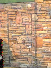 12 faux rock wall paintd texture finish
