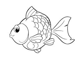 Fresco Disegni Da Colorare Per Bambini Di Pesci Img