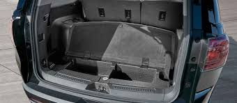 2015 gmc acadia interior. picture showing innovative trunk space in the 2017 gmc acadia midsize suv 2015 gmc interior g