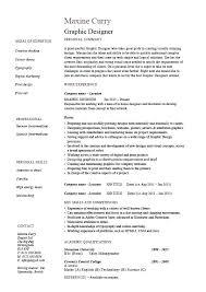 Graphic Design Resume Format Loan Officer Resume Sample