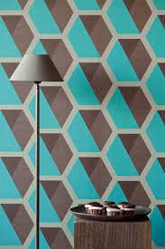 Eijffinger Behang Charm Bruin Blauw 331216 Wallpaper