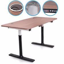 office desks ebay. NEW 230v ELECTRIC LARGE HEIGHT ADJUSTABLE HOME OFFICE SIT STAND COMPUTER PC DESK Office Desks Ebay