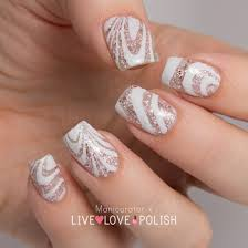 Live Love Polish: UNT Sand Castle Swatch Watermarble Nail Art ...