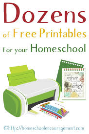 Free Homeschool Printables Worksheets Worksheets for all ...