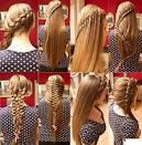 Все виды кос и их плетение 71