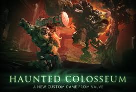 enter the haunted colosseum dota 2