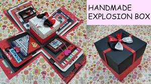 gift idea explosion box for friend birthday ideas handmade card order exploding decorating materials kit him love where wedding boyfriend ping tic homemade