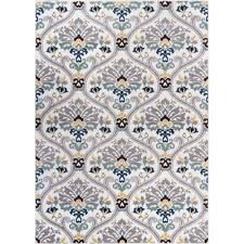 well woven electro darling fl gold 8 ft x 10 ft modern area rug