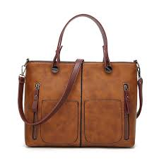 tote leather bag for women totes vintage girls