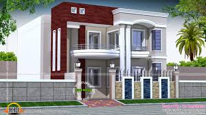 home design homes in india floor plan exterior house front kevrandoz