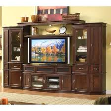 Wall Media Cabinet Cantata 4 Piece Entertainment Wall Unit With 60 In Tv Console