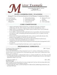 Management Resume Keywords Awesome Event Management Resume Format