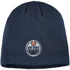 Edmonton oilers carhartt mens brown cuff knit winter hat cap toboggan nhl. Edmonton Oilers Knit Hat Oilers Beanie Winter Hat Lids Com