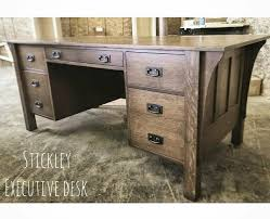 Home Office Desks Furniture Simple Stickley Executive Office Desk Home Office Home Office Desk Etsy