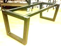 dining table base wood wooden rectangular glass metal top only glass top dining table with dark