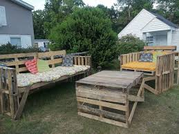 wood pallet patio furniture ideas wooden pallet outdoor furniture