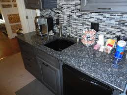 blue pearl countertop with cabinet