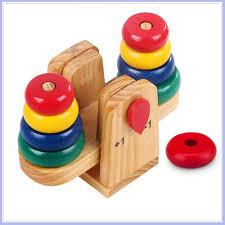 Mua Đồ chơi Cân toán học bằng gỗ cho bé 1 đến 5 tuổi chỉ 119.000₫
