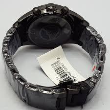 stylish black stainless steel chronograph mens watch by emporio stylish black stainless steel chronograph mens watch by emporio armani ar5921