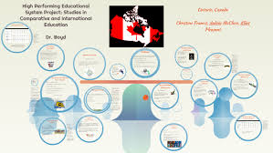 Ontario, Canada High Performing Educational System Project by Audria McClure