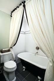 terrific shower curtain freestanding bath burlap shower curtain bathroom craftsman with freestanding bathtub white subway tile