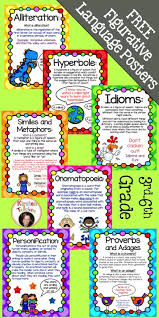 Figurative Language Chart Printable Free Printable Figurative Language Charts Homeschool Giveaways