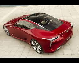 Lexus LF-LC Hybrid 2+2 Sport Coupe Design Concept 2012