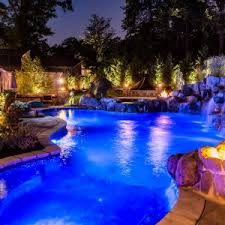 inground pools at night. Fine Night Inground Pools Livingston NJ By Design New Jersey On At Night N