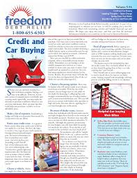 Freedom Debt Relief Credit Car Buying