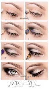 makeup up tutorial for hooded eyelids eye shadow make up hooded eye lids eyeshadow step by step