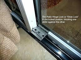 sliding patio door lock and sliding glass door lock repair go 16 sliding glass door lock