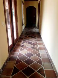 Perfect Manganese Saltillo Mexican Terra Cotta Tile   By Rustico Tile And Stone    Terracotta Flooring