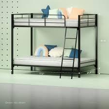 Steel Quick Lock Bunk Bed with 6u201d Twin Mattresses