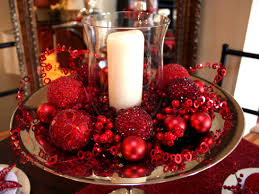 red christmas table decorations. Christmas Decorating Ideas Homemade Ornaments Hgtv Red Table Decorations