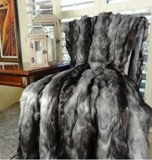 gray faux fur throw. Brilliant Throw Image 0 In Gray Faux Fur Throw T
