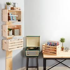 crate wall shelves attractive how to make an easy wooden shelf the family handyman inside 24