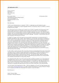 Sample Cover Letters For Applying For A Job Sample Cover Letter