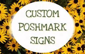 Posh Closet Create Signs For Your Poshmark Closet By Savjack28