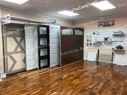 garage doors on display abgd