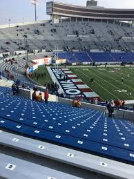 Section 109 Row 50 Picture Of Liberty Bowl Memorial