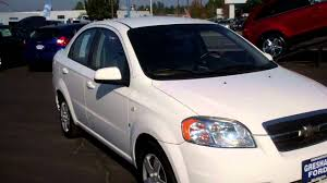 Chevrolet Aveo 2007 LS at Gresham Ford your one stop auto solution ...