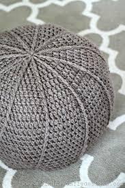 Crochet Pouf Pattern Free