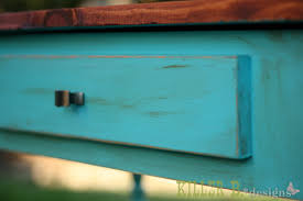 distressed turquoise furniture. Distressed Turquoise With Chocolate Glaze Inside Furniture